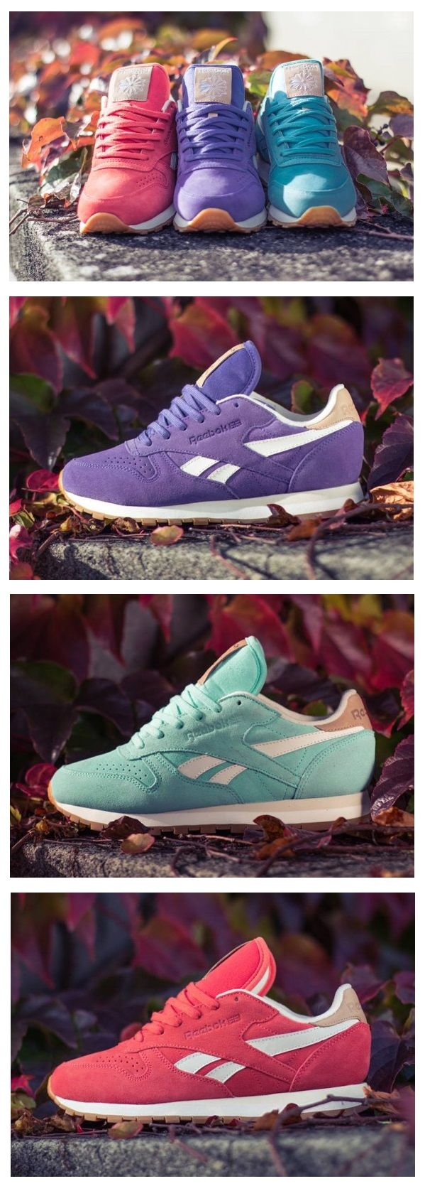 Reebok Classic Leather Suede | Slippers | Pinterest