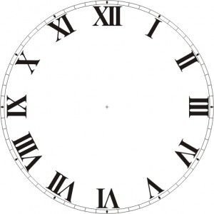 Reloj Con Números Romanos Tic Tac Caras De Reloj Reloj Y
