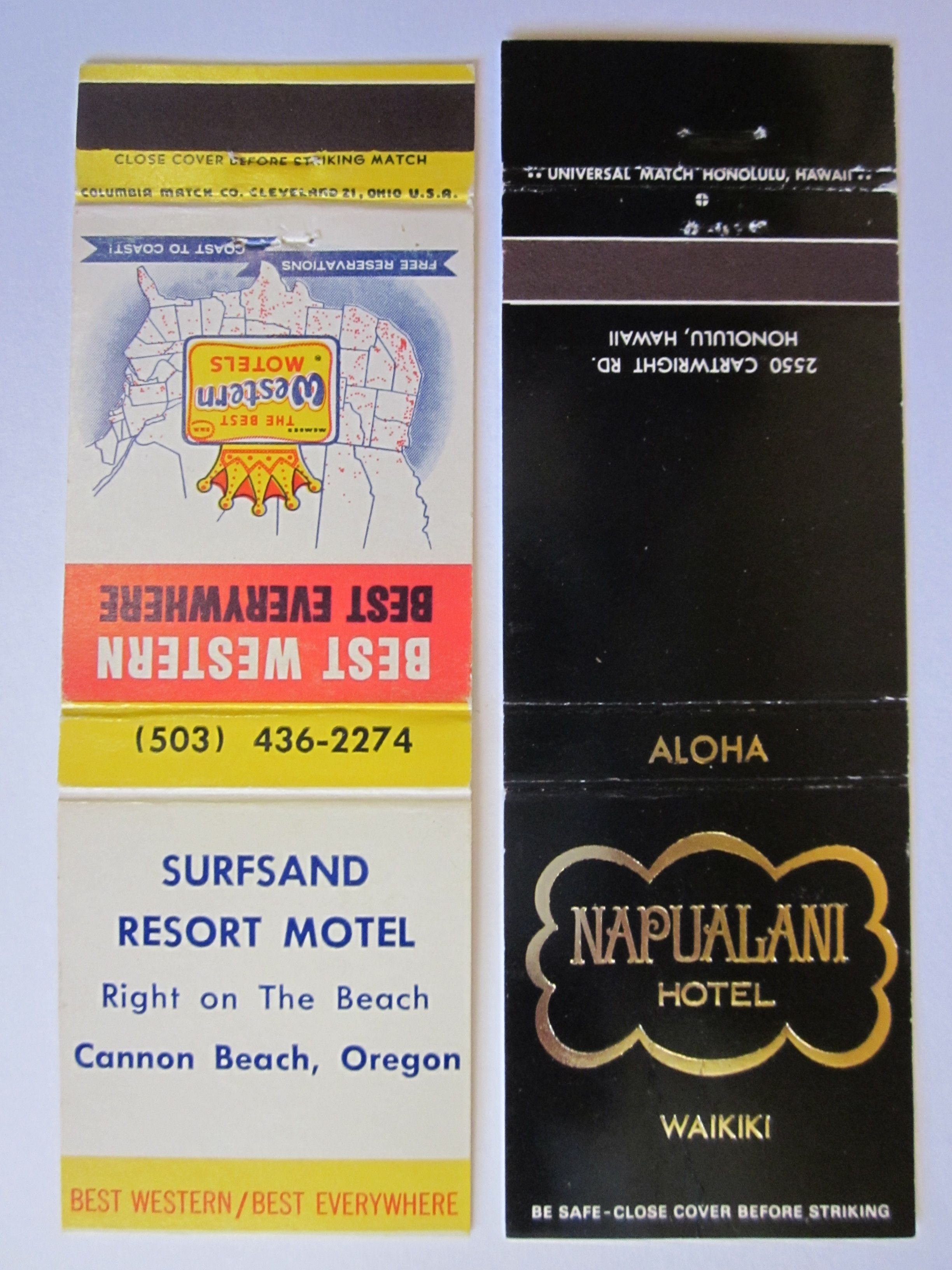 1 Surfsand Resort Motel Cannon Beach Or 2 Napualani Hotel