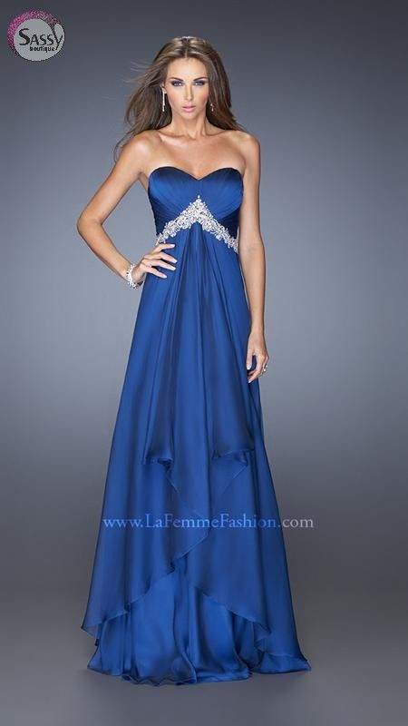 La Femme Evening Dress