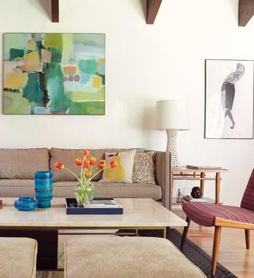 "George's ""Soft Modern Mix"" Room — Room for Color 2014"