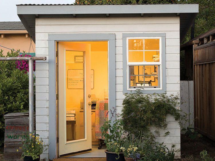 Kantoor En Meer : Tuinhuisje als kantoor small office ideas