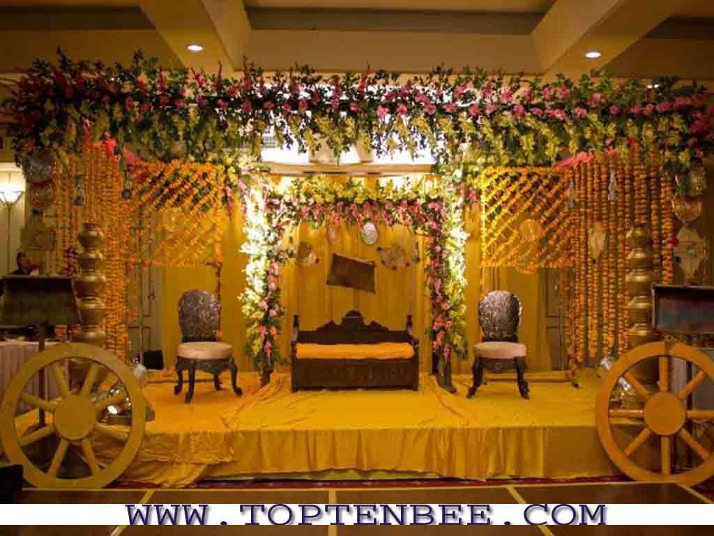 Indian wedding bedroom decoration ideas - Find This Pin And More On Mendhi