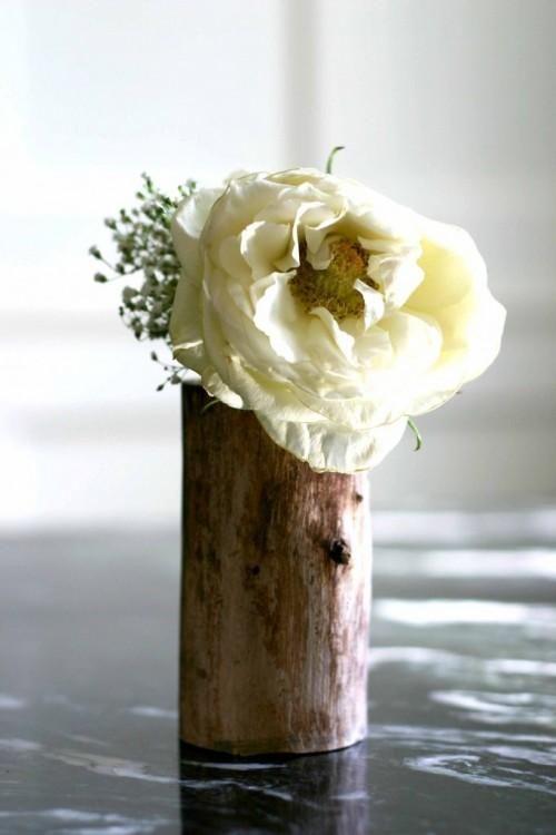 Diy Home Decor Crafts Diy Vase Diy Flower Vase Of A Small Wood