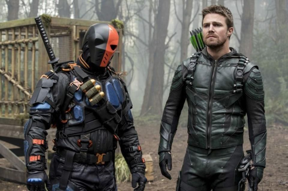 Image result for deathstroke arrow tv series