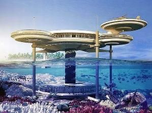 Underwater Hotel in Dubai by shauna