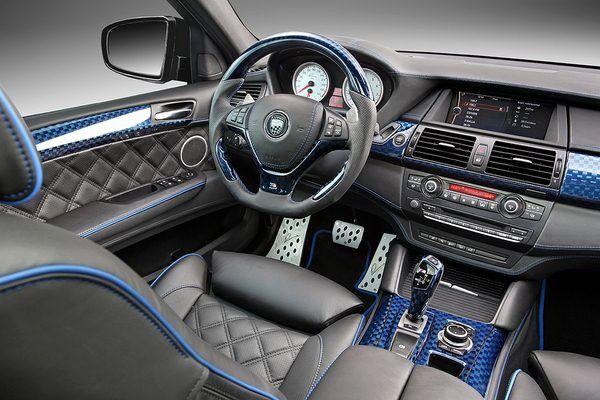 BMW X7 SUV Interior Photo