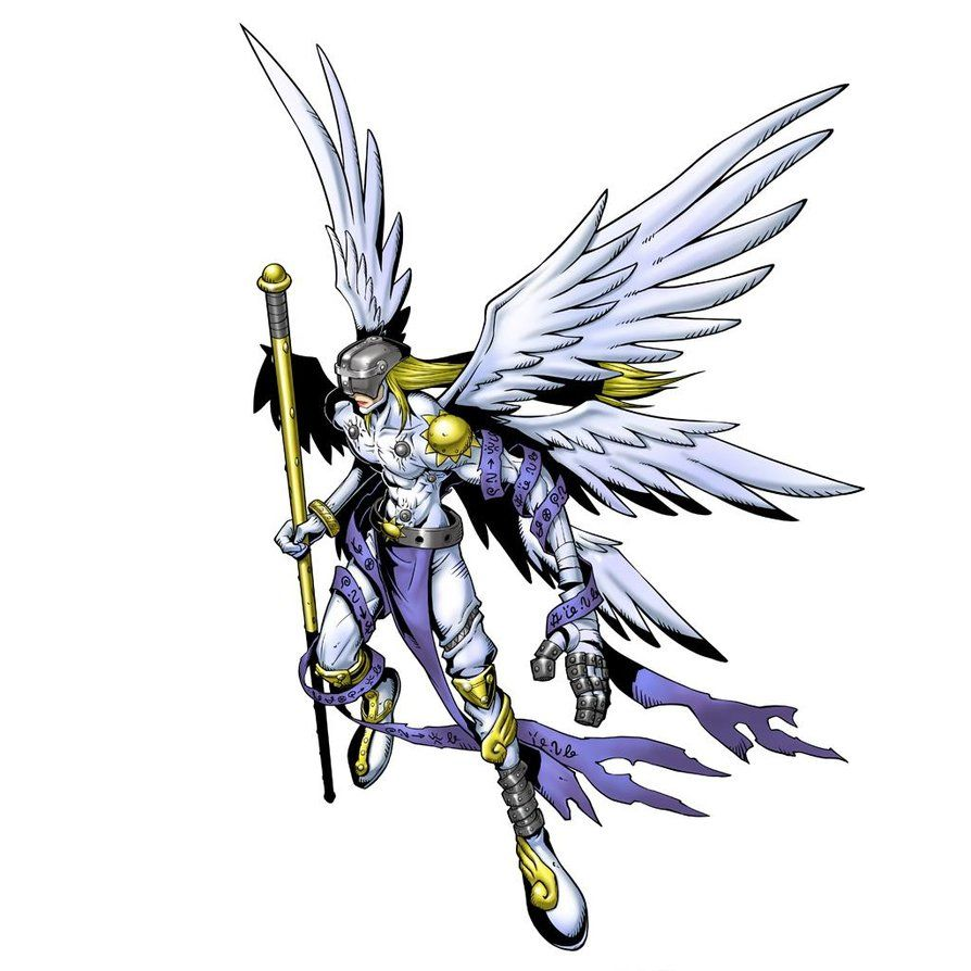 Pin On Angemon And Angewomon Any child nature digimon from digimon world: pin on angemon and angewomon
