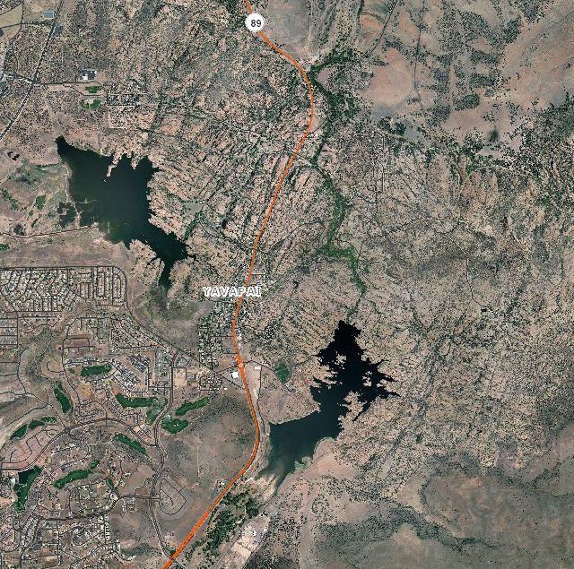 Lakes Near Prescott Arizona Watson Willow Lynx Granite Basin