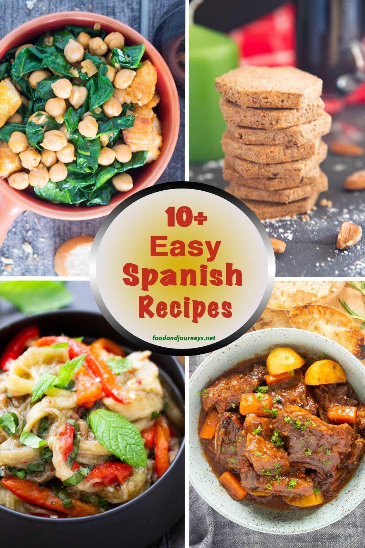 spanish food recipes easy