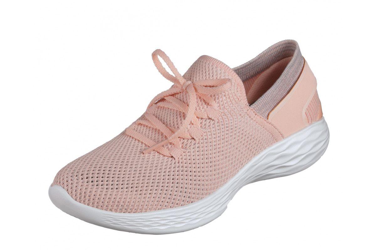 e3f80e0e72d7 Skechers You Spirit Peach Women s Slip On Comfort Shoes Comfortable Shoes