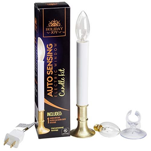 Quantity 16 Darice 6201-70 9 Electric Window candle Lamp w// Automatic Timer