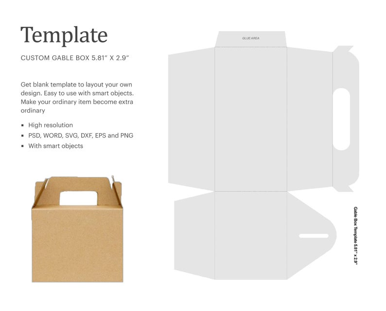 10++ Free svg box templates ideas in 2021