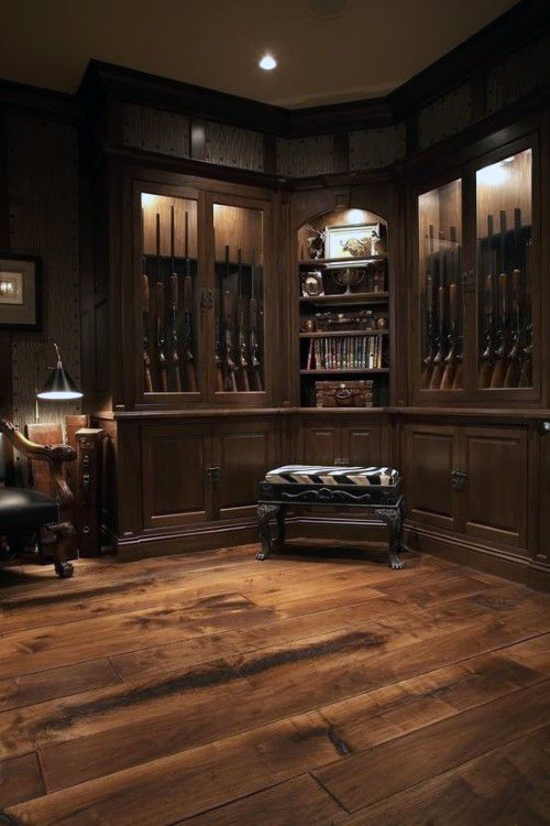 Wood Flooring Gun Room Design Inspiration Home Ideas