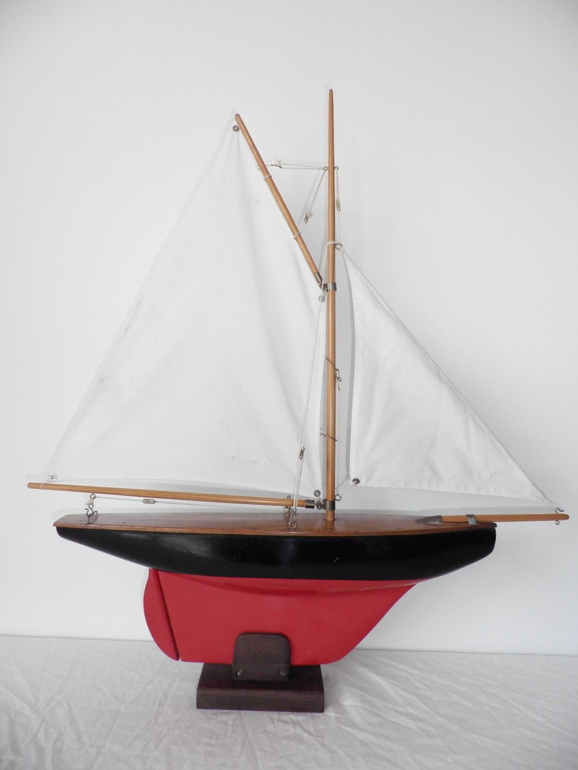 restored 1930's gamages/hamleys pond yacht-sold | pond