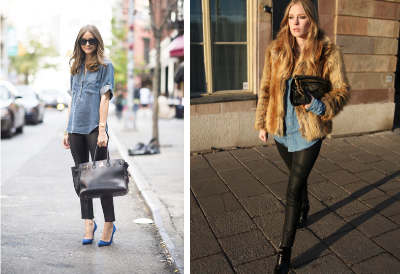 Shirts To Wear With Leather Leggings