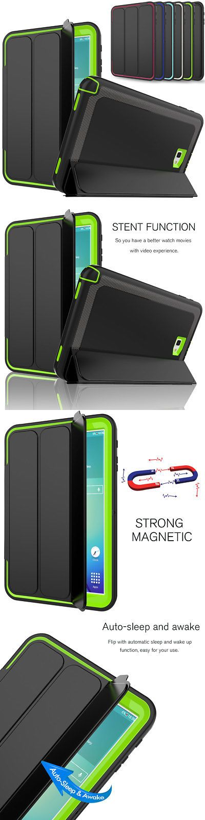 8386fedcdf4b Tablet and eBook Reader Accs 176970  Heavy Duty Shockproof Smart Cover Case  For Samsung Galaxy