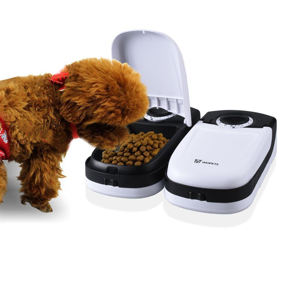 Automatic Pet Feeder Food Dispenser 48 Hour Timer Dogs