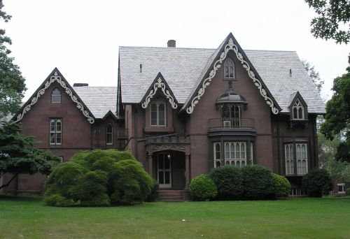 Gothic Style Homes gothic victorian style houses |  barnes house 1848 july 16th