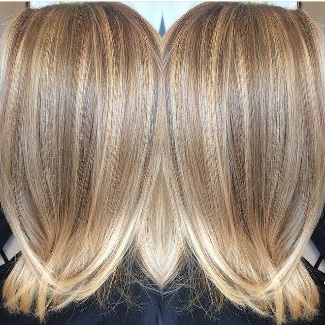 Beige And Butter Frisuren Haarfarben Frisuren