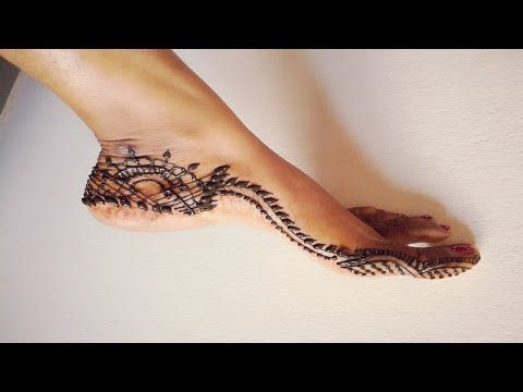 Simple Mehndi Henna Designs Legs : Simple and easy henna mehndi designs for beginners
