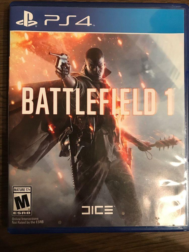Battlefield 1 Sony Playstation 4 2016 Ps4 Gaming Video
