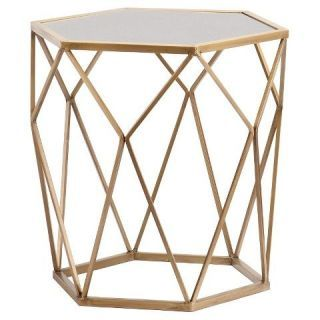 Best Accent Table This Nightstand S Geometric Base And Gold 400 x 300