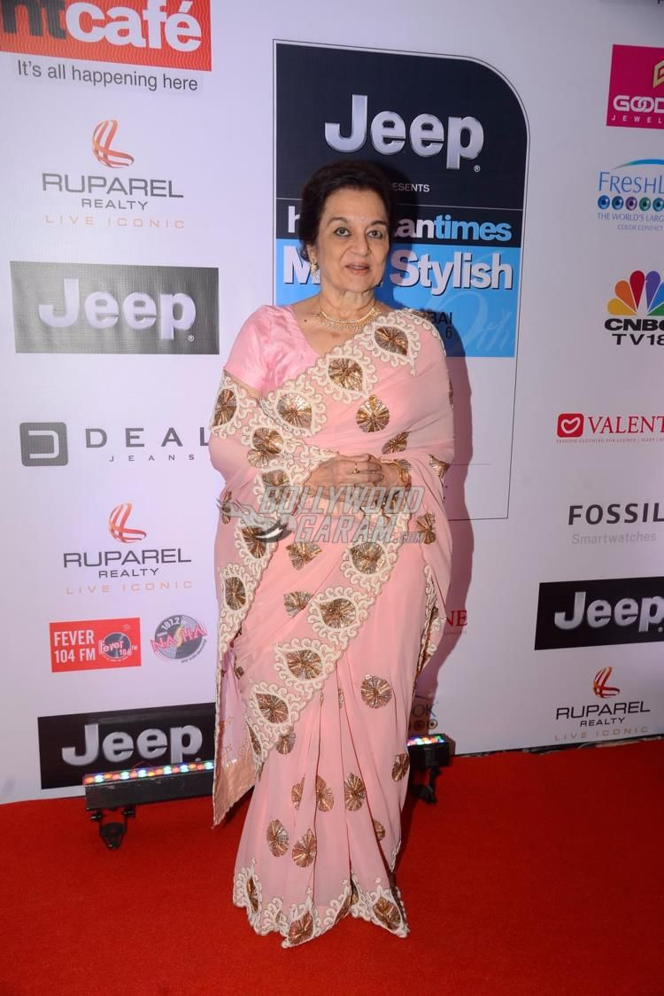 asha parekh at ht most stylish awards 2017 red carpet | ht most