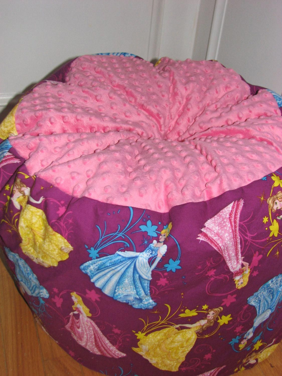 Disney Princess Bean Bag Chair For Kids Ages 8 By Beanbagsgalore 45 00 Smallbeanbagchairs Adirondack