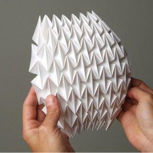 plegado de papel para arquitectos