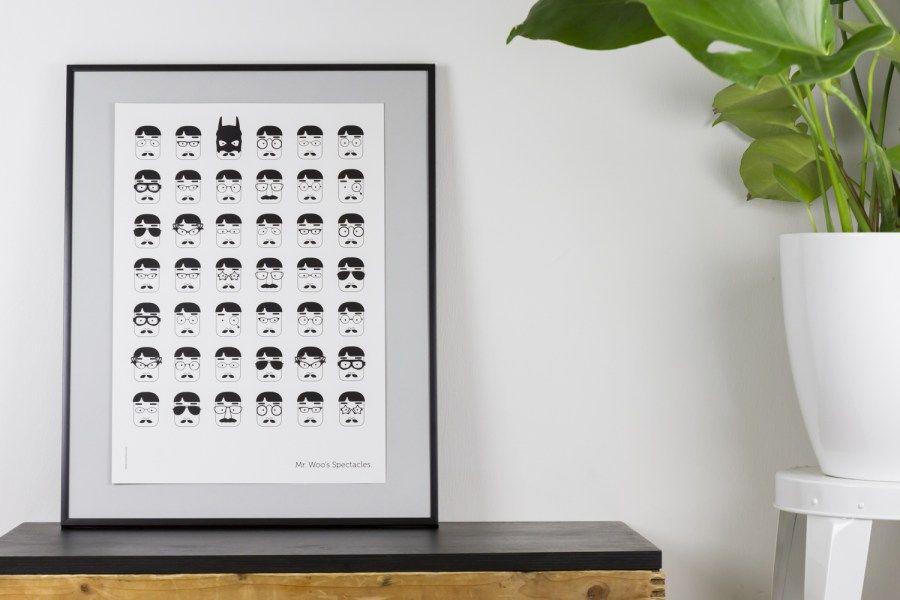 MadeBy | Mr. Woo's Spectacles poster By Muumuru