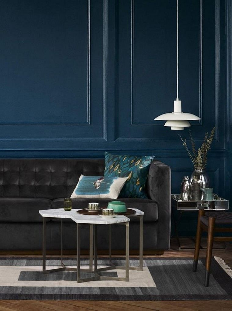 d co bleu canard bleu paon ou bleu p trole interior. Black Bedroom Furniture Sets. Home Design Ideas