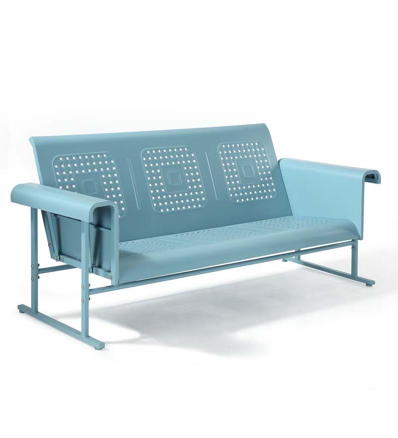 Veranda Metal Sofa Glider Furniture
