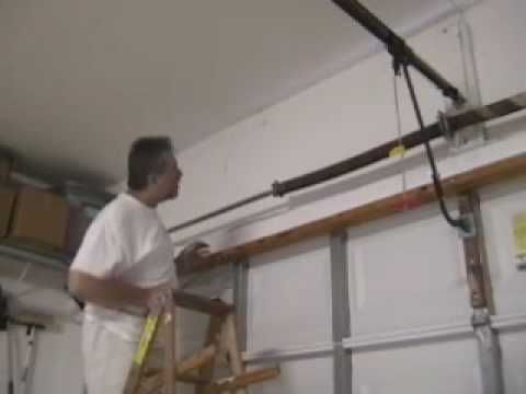 Diyclinic Garage Door Torsion Spring Replacement Part 1