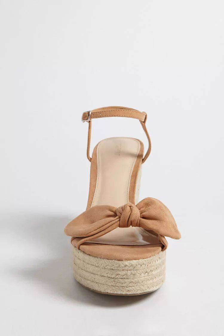 93bdd0496f7 Bow Espadrille Wedges | Bags and shoes | Shoes, Espadrilles, Shoes ...