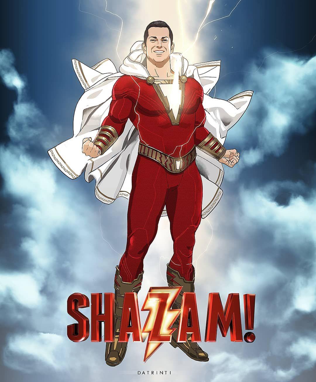 DC Comics Girls Shazam Movie Logo Hoodie