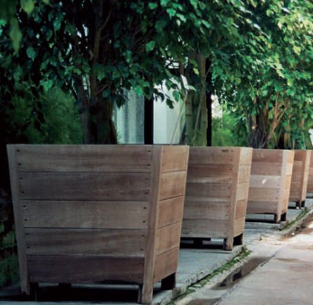 Tree Planters I Would Add Wheels So You Can Take Them With When Move Otherwise A Fork Lift Might Be Required