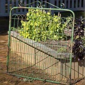Marvelous Metal Gate Wall Decor | Garden Gate Decor
