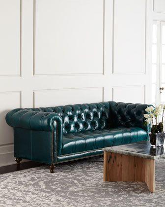 Massoud Davidson Tufted Seat Chesterfield Sofa Chesterfield Sofa Furniture Sofa Design