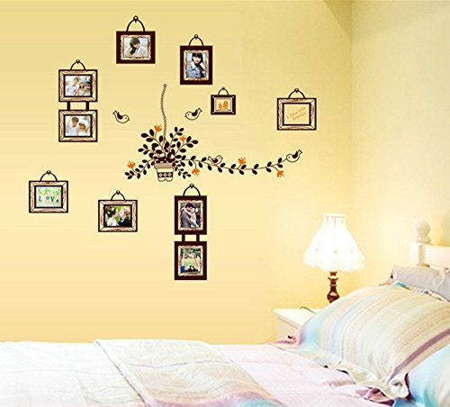 Bestwoohome Removable Art Home Decor Wall Sticker Photo Murals for ...