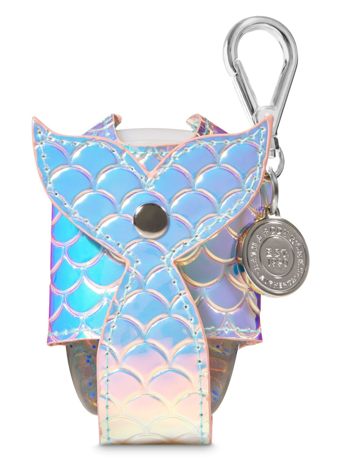 Bath Body Works Iridescent Mermaid Tail Pocketbac Holder Hand