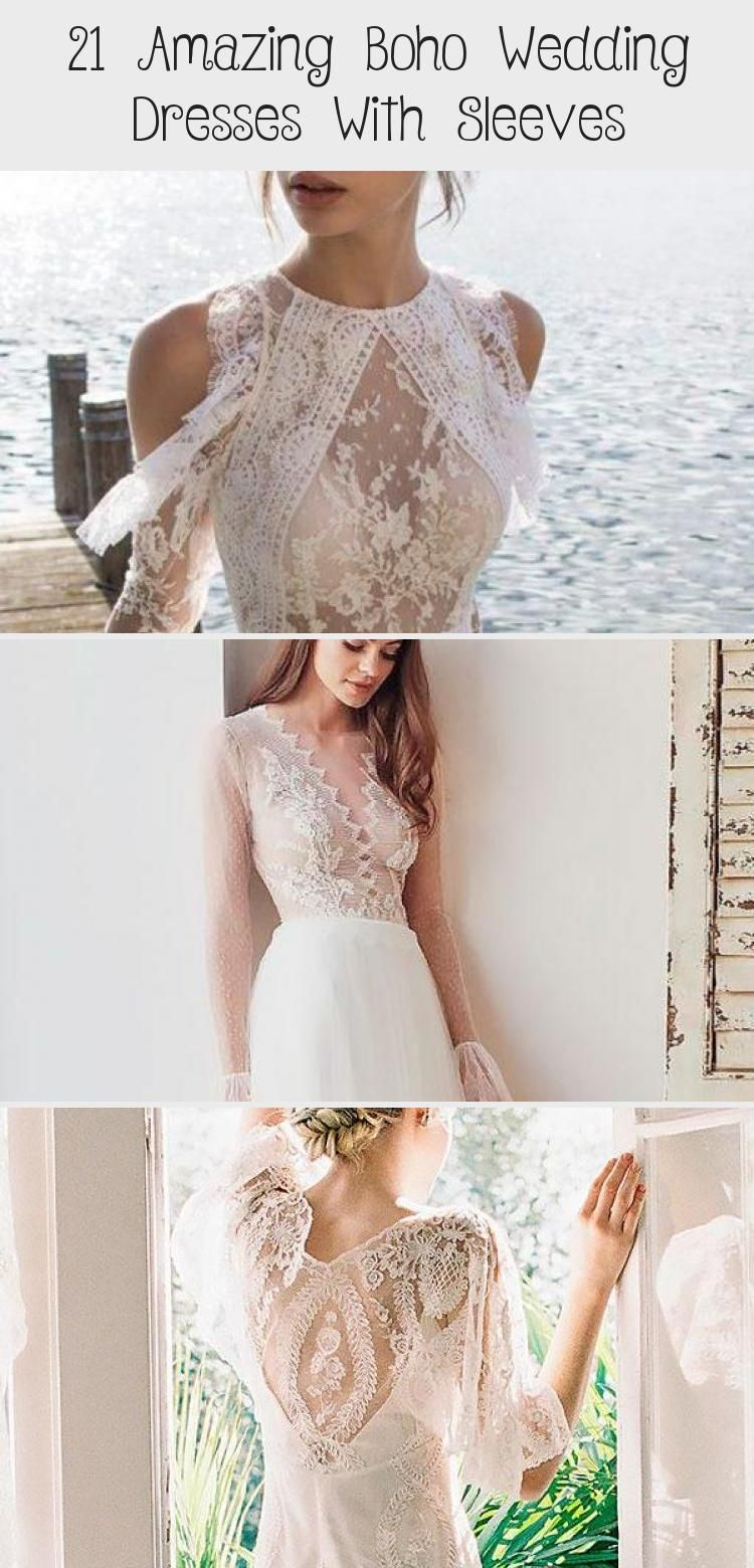 21 Amazing Boho Wedding Dresses With Sleeves #greekweddingdresses Trubridal Wedding Blog | 21 Amazing Boho Wedding Dresses With Sleeves - Trubridal Wedding Blog #bohoweddingdressPlusSize #bohoweddingdressFlowerCrown #bohoweddingdressTeaLength #bohoweddingdressRed #bohoweddingdressColor #greekweddingdresses