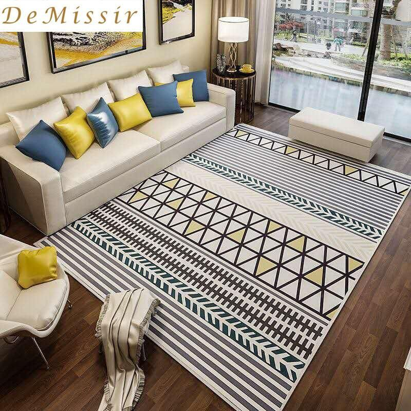 buy large europe simple geometric pattern rectangle carpet parlor rh pinterest com  average carpet cost for a bedroom