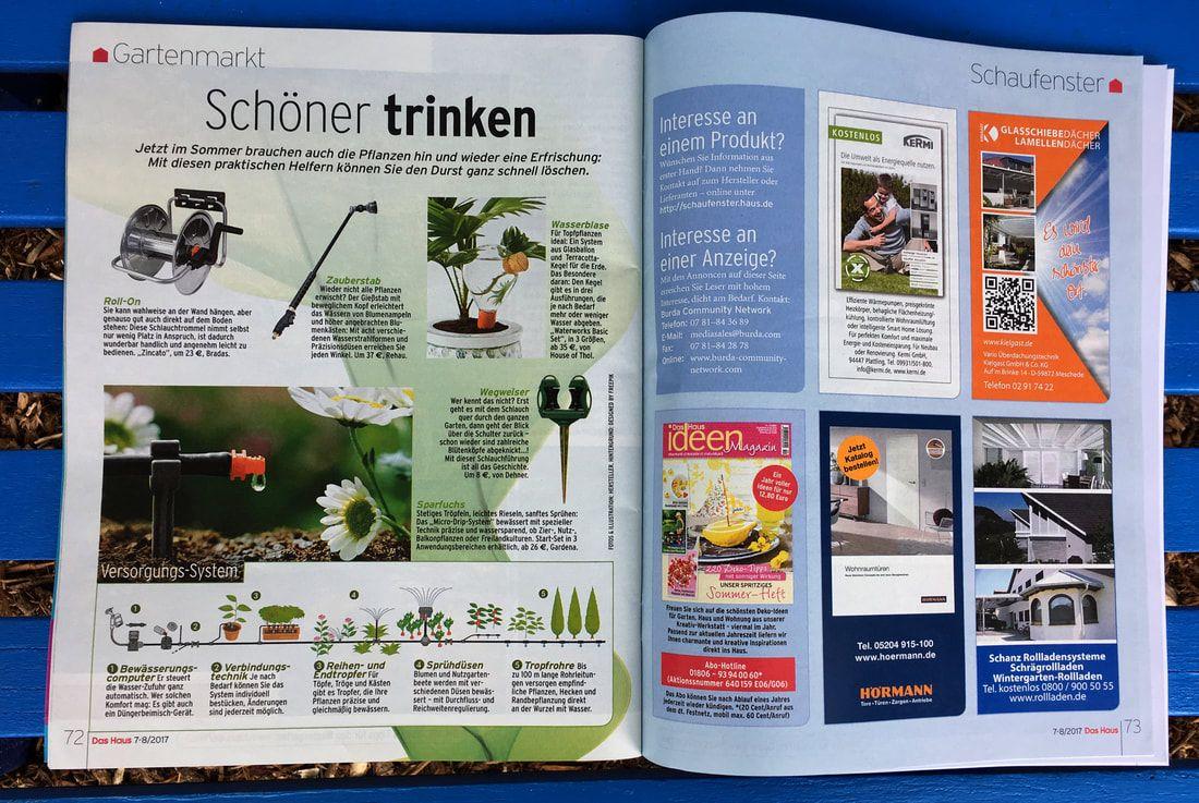 Schoner Trinken Wasserblase German Magazine Das Haus About Waterworks Photograph By House Of Thol