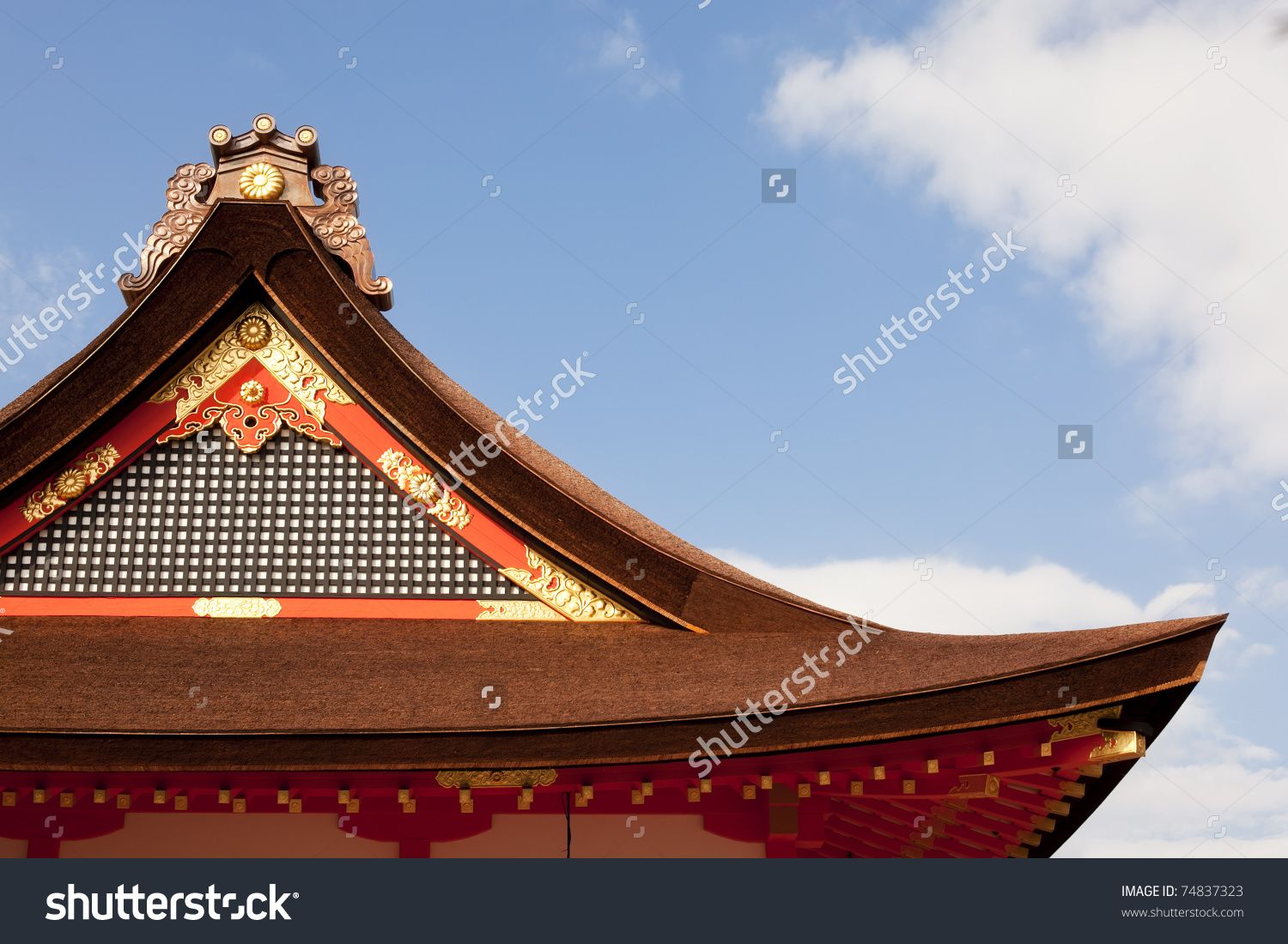 Image Result For Japanese Temple Building A Shed Roof Cool Roof Roof Repair