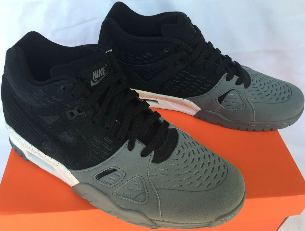 ca6a43421 (eBay Sponsored) Nike Air Trainer 3 LE Limited 815758-001 Black Suede  Training