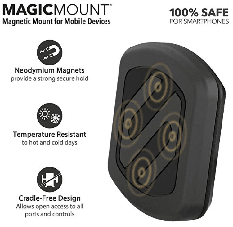 fe82e878b8022 SCOSCHE MAGDMB MagicMount Universal Magnetic Phone GPS Mount for the ...