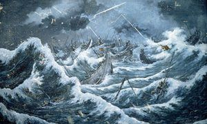 How a typhoon sank Kublai Khan | Science | The Guardian