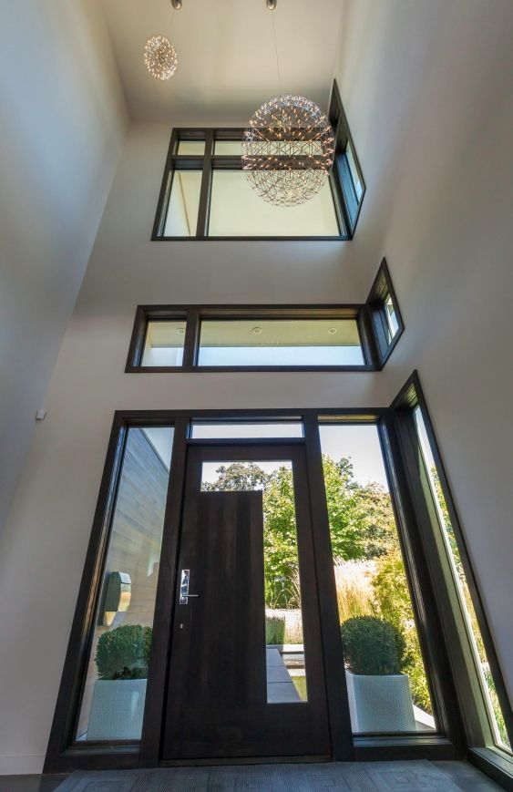 Modern Glass Front Doors Design House Outside External