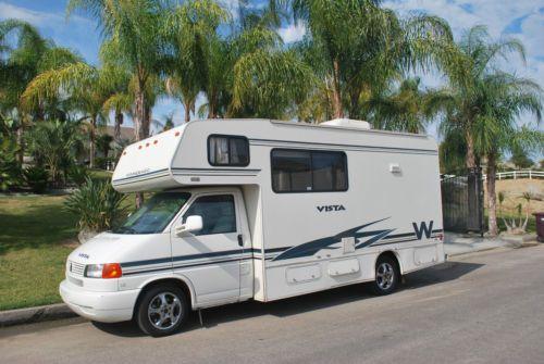 Winnebago Vista Class C Rv 21 V6 Chassis Ebay Class C Rv Winnebago Trailer Life